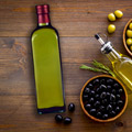 Huile d'olive olive noire