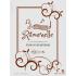 Étiquette autocollante personnalisée La Ritournelle