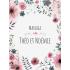 Étiquette autocollante personnalisée fleurs pastels