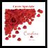 Étiquette personnalisée autocollante cuvée spéciale roses