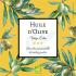 Étiquette autocollante personnalisée huile d'olive pastel