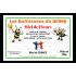 Étiquette personnalisée miel autocollante modèle butineuses