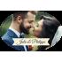 Étiquette autocollante personnalisée mariage ovale