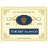 Étiquette autocollante personnalisée Champagne Blanco