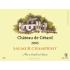 Étiquette autocollante personnalisée château de Gétard
