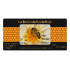Étiquette personnalisée autocollante miel avec abeille et alvéoles