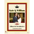 Kate and William Personalized Wedding Sticker