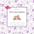 Purple mother's day customized label template