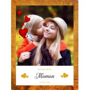 Customized label template mother's day with photo</strong> Étiquette créée le 15/05/2018