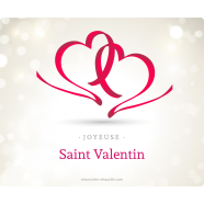 Personalized label sticker template valentine&#039;s day ribbon</strong> &Eacute;tiquette cr&eacute;&eacute;e le 12/03/2018