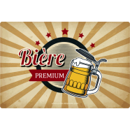 Personalized sticker template premium beer label</strong> &Eacute;tiquette cr&eacute;&eacute;e le 12/03/2018