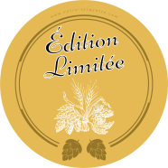 Personalized label sticker pattern beer hops</strong> &Eacute;tiquette cr&eacute;&eacute;e le 23/04/2018
