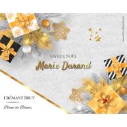 Étiquette autocollante personnalisée noël cadeaux</strong> Étiquette créée le 21/10/2019